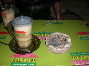 Wedang Susu Jahe di Warung Wedangan Panjer Sore (Mangkubumen-Solo)