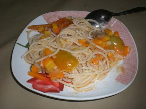 Spaghetti Buatan Nyokap