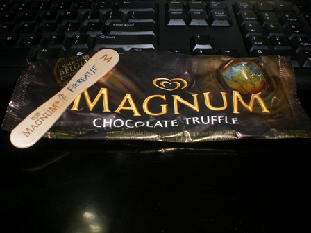 Ice Cream Magnum Chocolate Truffle