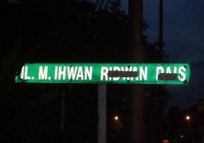 Jalan Ridwan Rais