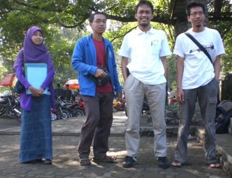 Kopdar @ Bandung (Grini, Asop, Ahmed, Ulum)