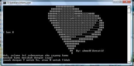 Katakan Cinta dengan Pascal 2