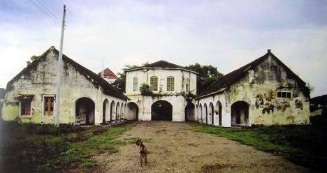 Benteng Vastenburg Sebelum Dirubuhkan (Koreksi Mas Taufiq)