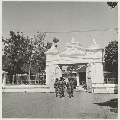Gapura- Kraton Surakarta