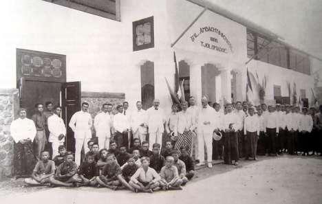 Inlambacht School Tjolomadoe 1926
