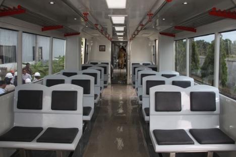 interior railbus