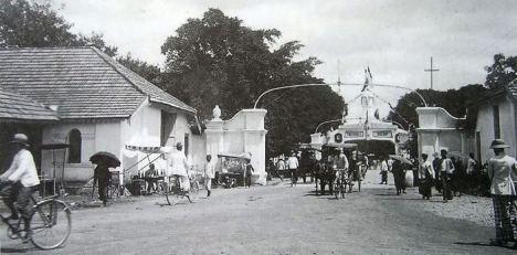Jalan Dekat Alun-alun 1925