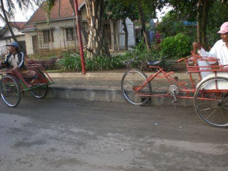 Model Becak Madura,