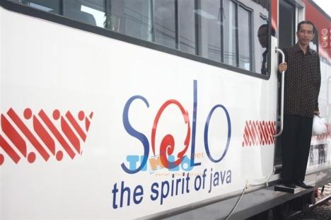 walikota di railbus