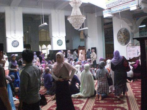 Sebelum Halal bi Halal @HijabersComm Dimulai