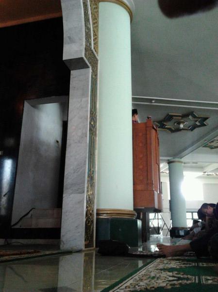 Khotbah pertama di bulan Syawal masjid UII