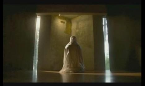 #3 Adegan Annisa Sholat di Mushola Dalam Film Cin(t)a