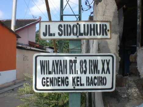 Kampung Gendeng - Jogja