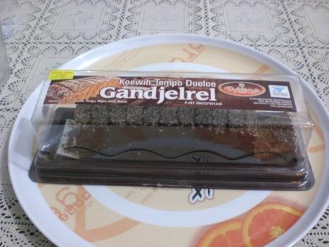 Kue Gandjel Rel - Kue Tempo Dulu