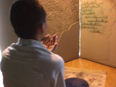 Aku Berdoa Setelah Sholat :D