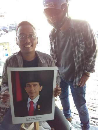 Foto Bareng Jokowi