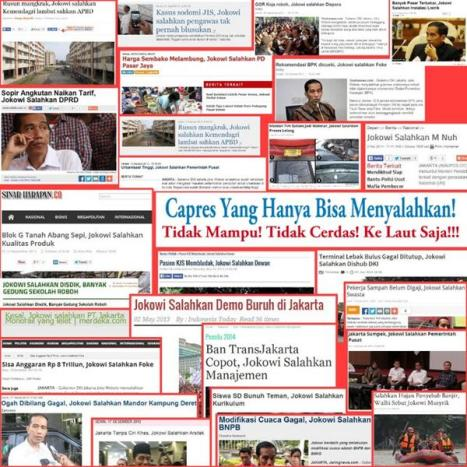 Kliping Berita tentang Pernyataan Jokowi