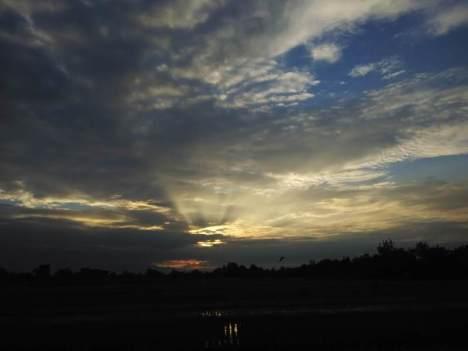 Langit di Ngrombo Baki Sukoharjo