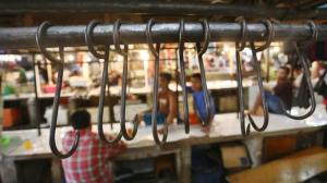 Mogok Pedagang Sapi (Foto: Angga Baghya Nugraha /Warta Kota)