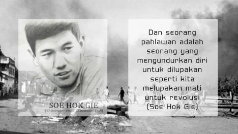 Soe Hok Gie tentang arti Pahlawan