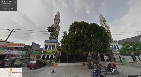 Masjid Mujahidin Banyuanyar Solo