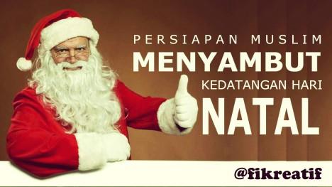 Persiapan Muslim Menyambut Hari Natal 02