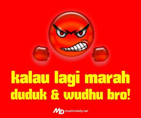 MD Kalao marah wudhu